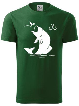 Pánske rybárske tričko Super Ryba