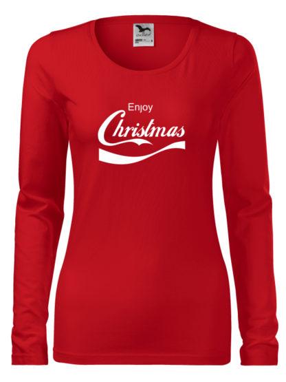 Dámske Vianočné tričko IV