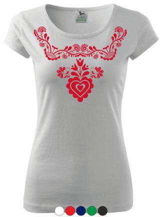 Dámske tričko Slovenské Ornamenty III 8